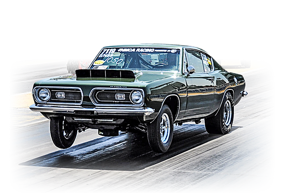 Saturday Muscle Car Drag Race