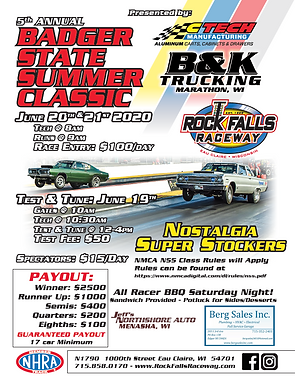 MCR Stock/Super Stock Combo Race + Nostalgia Super Stockers & Index Race