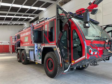 Jampur delivers first ARFF firetrucks to Nigeria