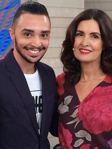 LuizFilho e Fatima Bernardes