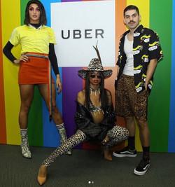 Trio UBER - Parada LGBTQ+