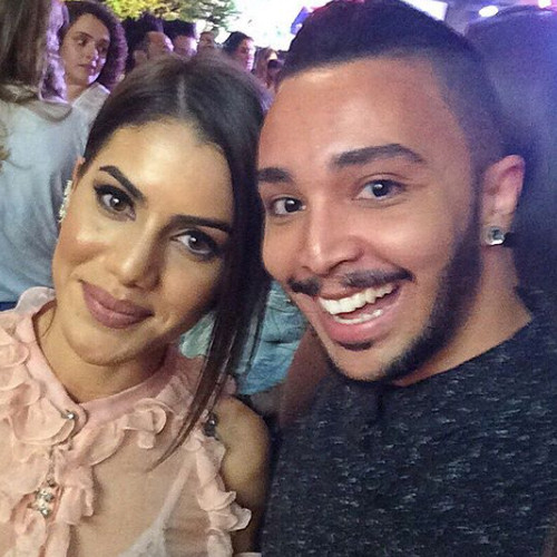 Luiz Filho e Camila Coelho