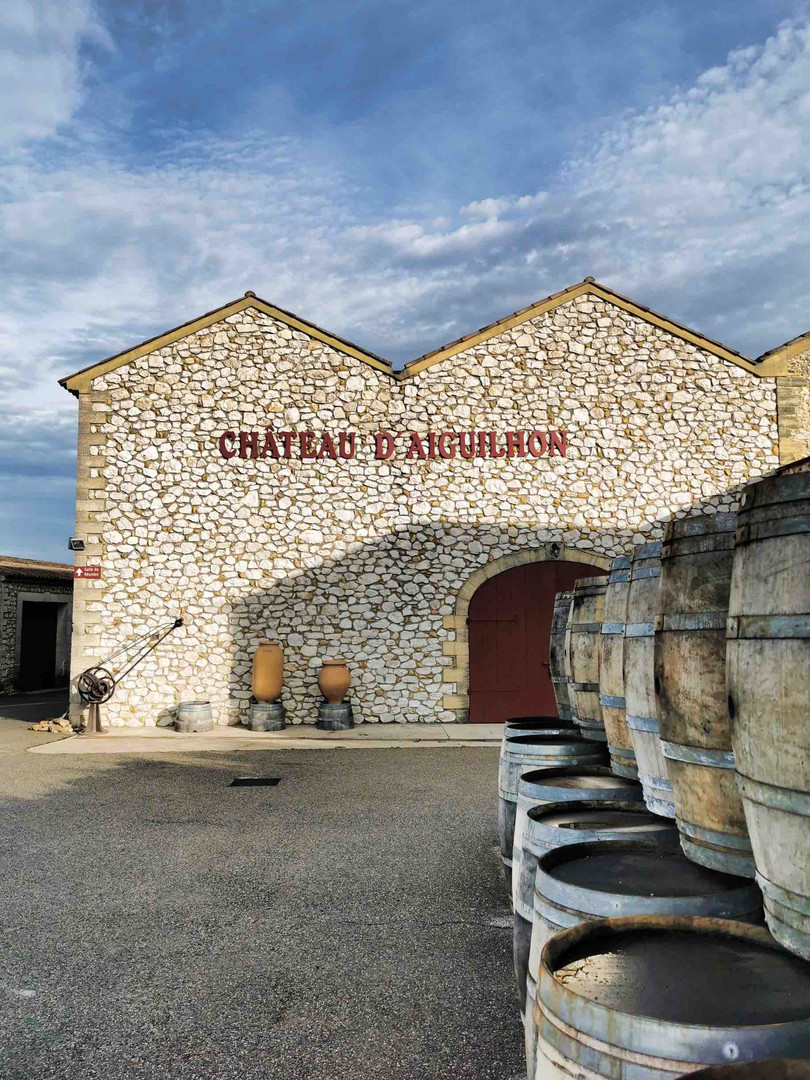 Chateau d'Aiguilhon - Sauveterre (30)