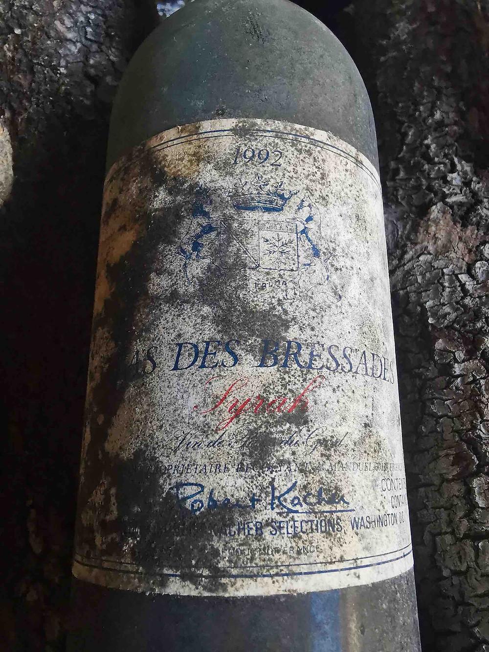 Vieux millésime du Mas des Bressades de 1992