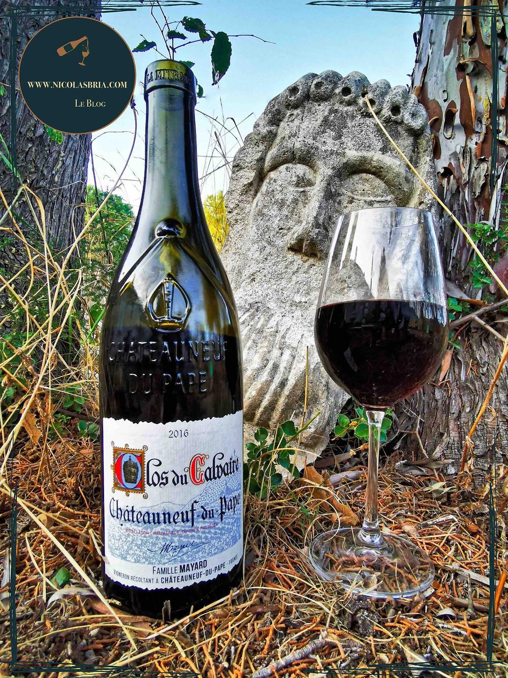 Clos du Calvaire - 2016 - Vignobles Mayard - Vin rouge - Chateauneuf du Pape