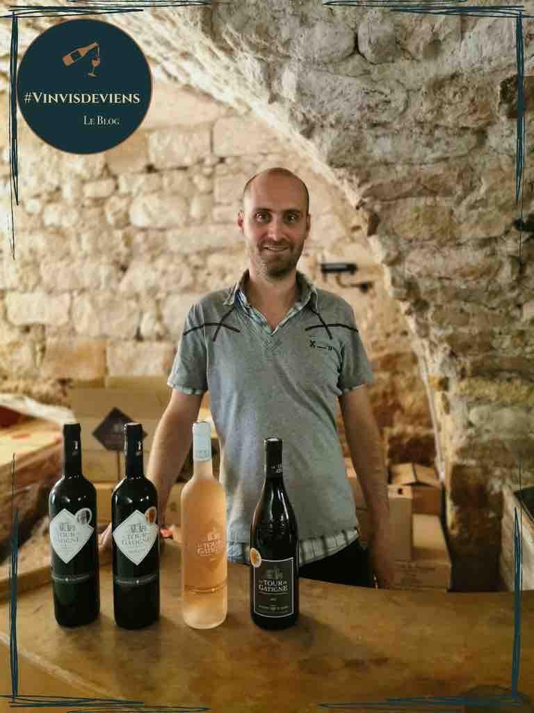 Jérôme Guibal - La Tour de Gâtigne - vigneron - Duché d'Uzès - Gard
