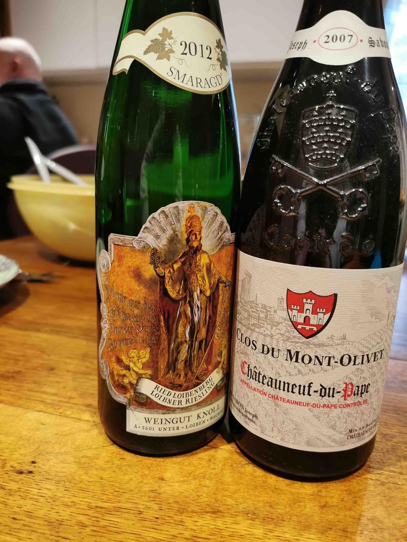Deux vins incroyables !