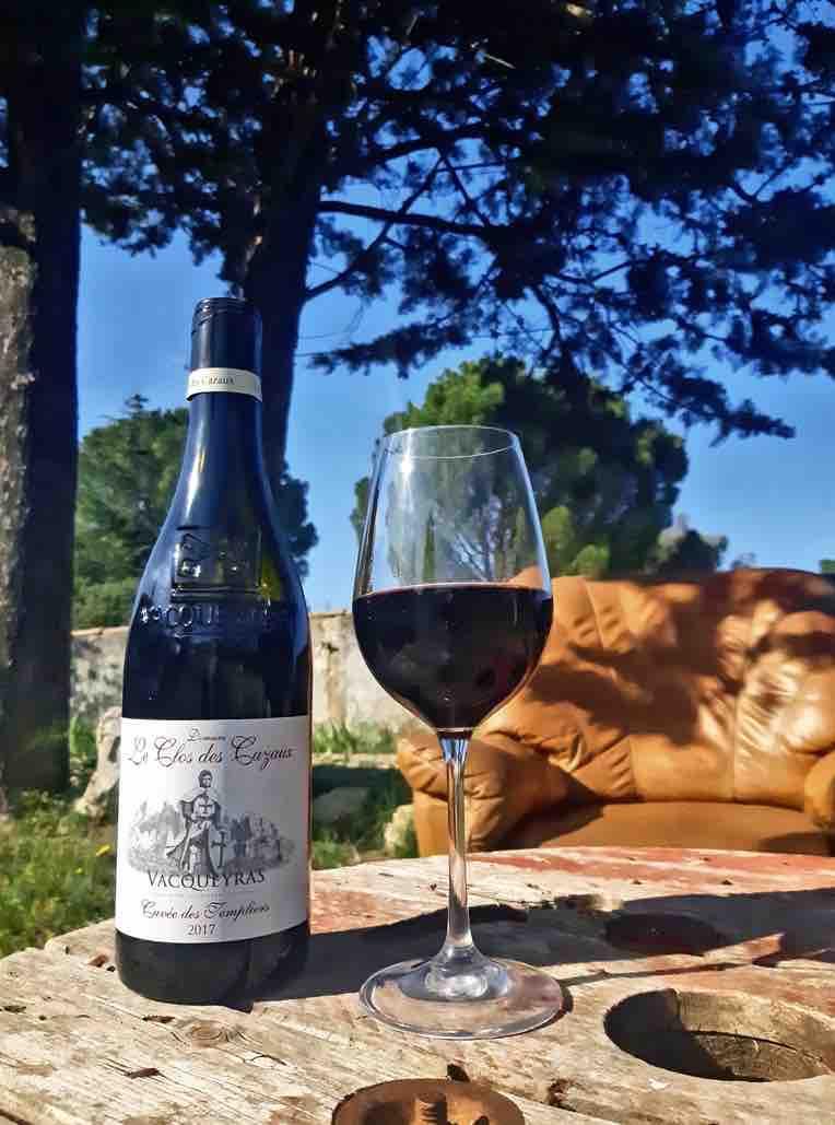 Cuvée des Templiers - Le Clos des Cazaux - Vacqueyras - Vin - Cuvée - #Vinvisdeviens