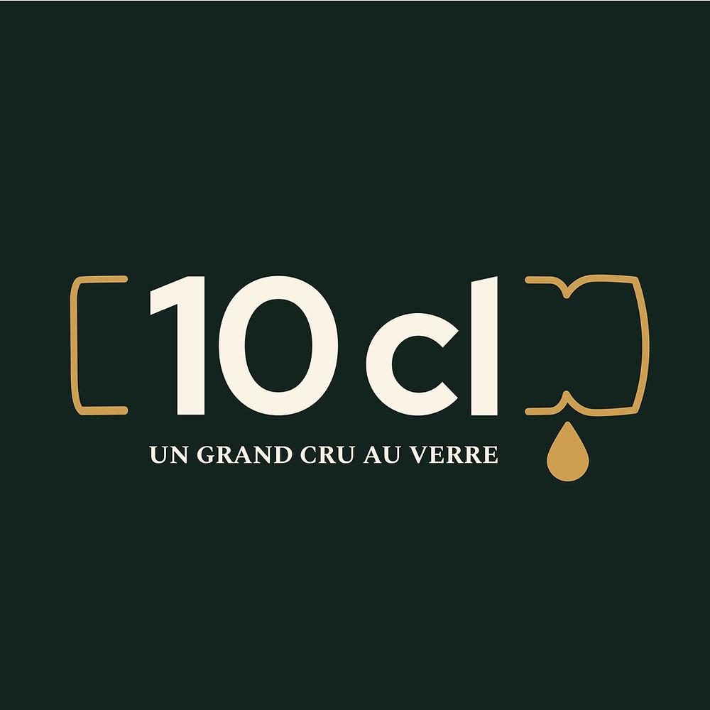 """Logo """"10 cl"""""""