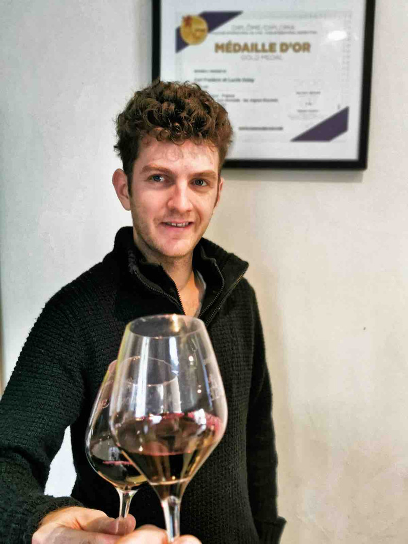 Rencontre avec le jeune vigneron, Vincent Delay