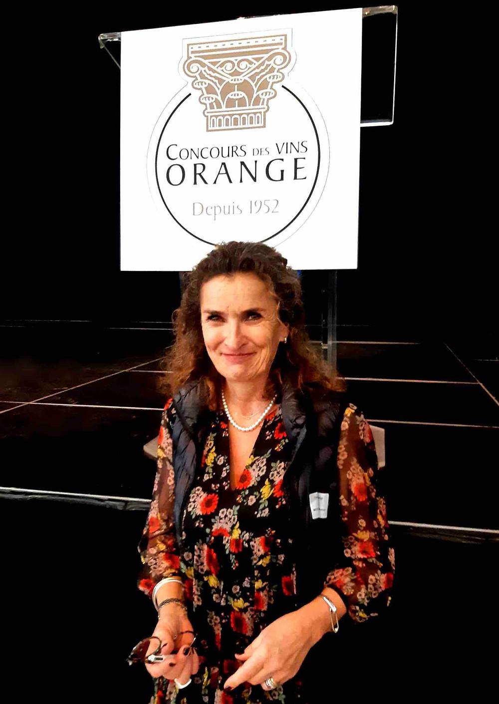 Anne Mouralis - Concours - Vins - Orange