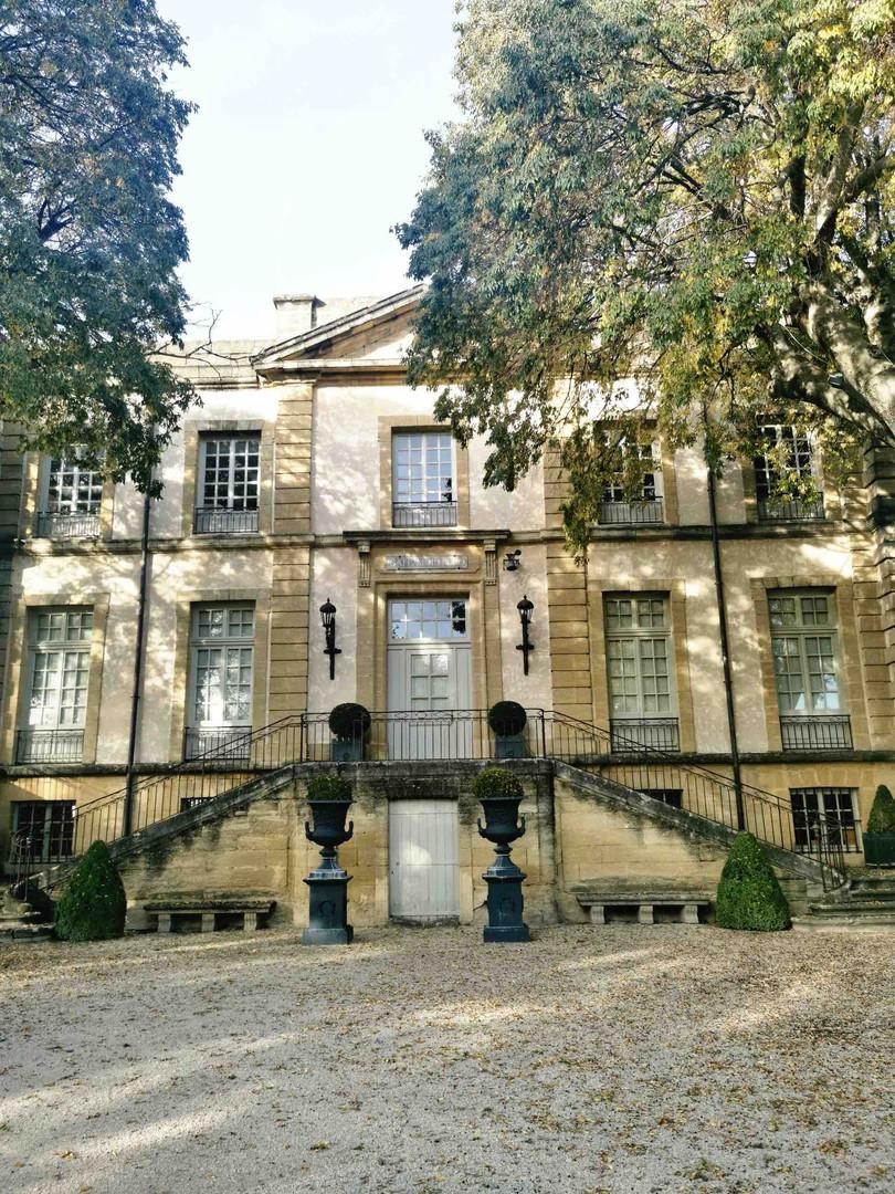 Chateau de Malijay à Jonquières
