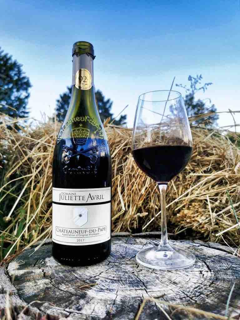 Vin - Cuvée Traditionnel - Châteauneuf-du-Pape - Domaine Juliette Avril