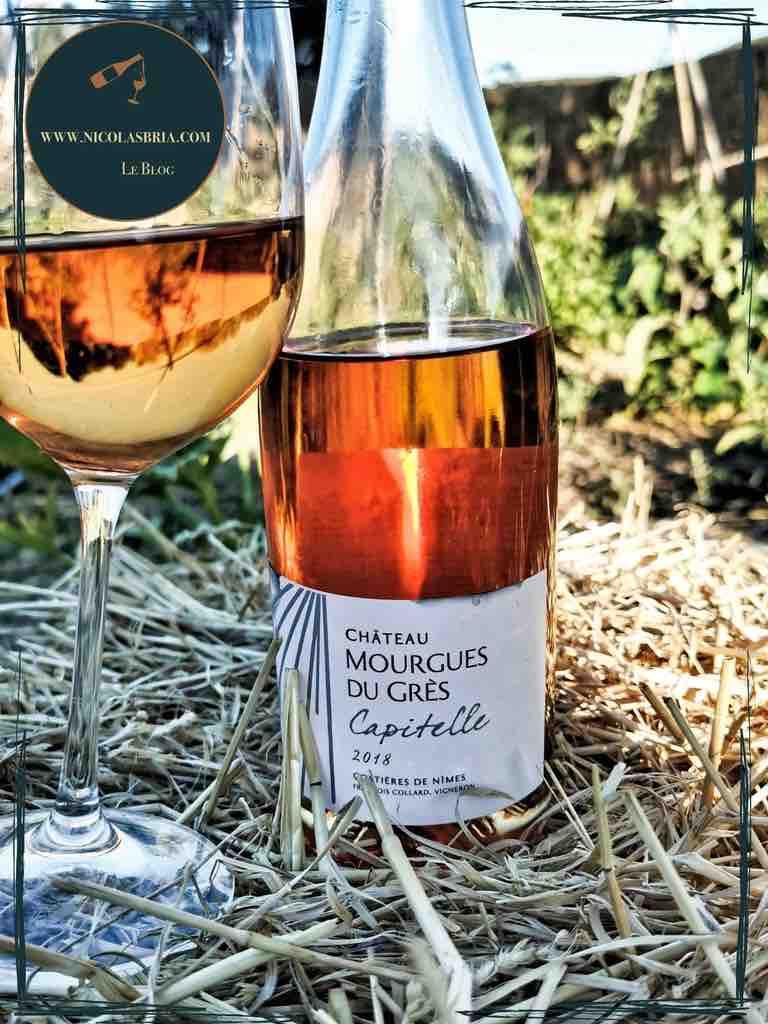 Vin rosé - Capitelle du Mourgues - Rosé - 2018 - Costières de Nîmes - Chateau Mourgues du Grès
