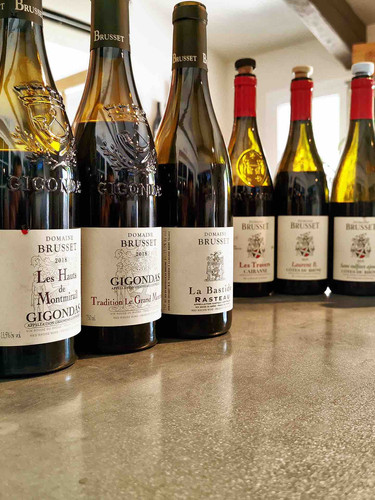 Les vins de Laurent Brusset