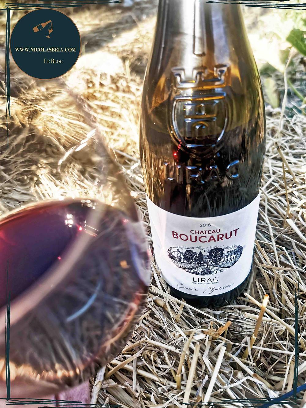 Château Boucarut - Lirac - 2018 - Vin rouge