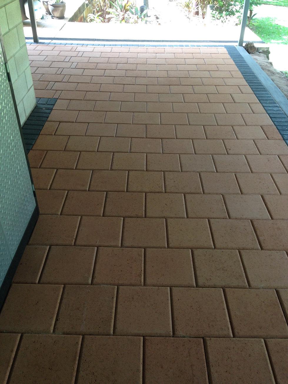 verandah paving