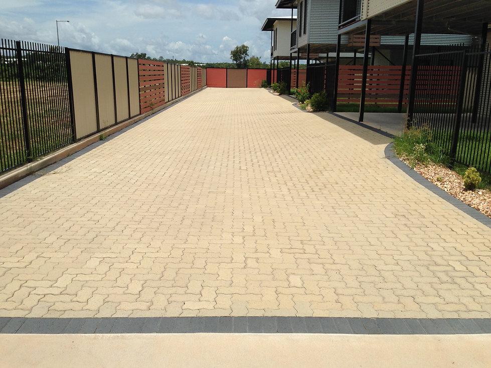 unit driveway
