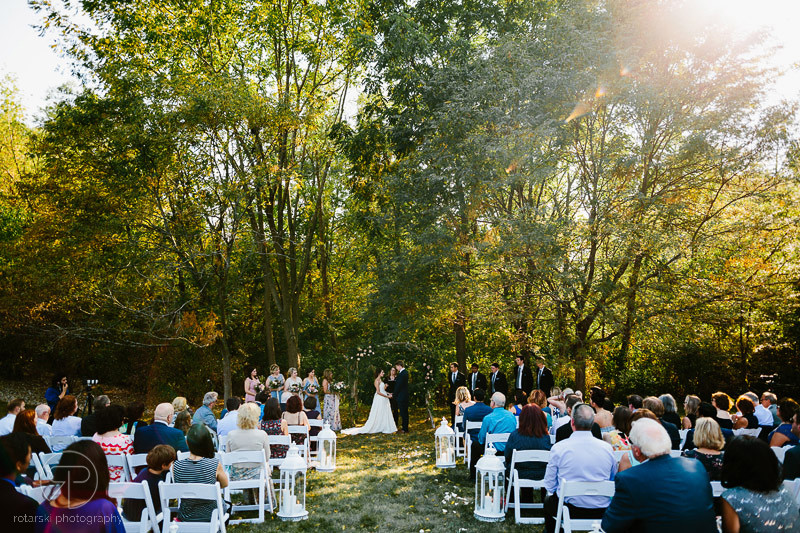 emotional-outdoor-summer-wedding-ceremony-woods-illinois-documentary-wedding-photographer-chicago-rotarski