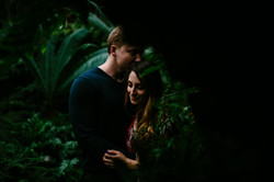 garfield-park-conservatory-nature-inspired-winter-engagement-chicago-documentary-wedding-photography