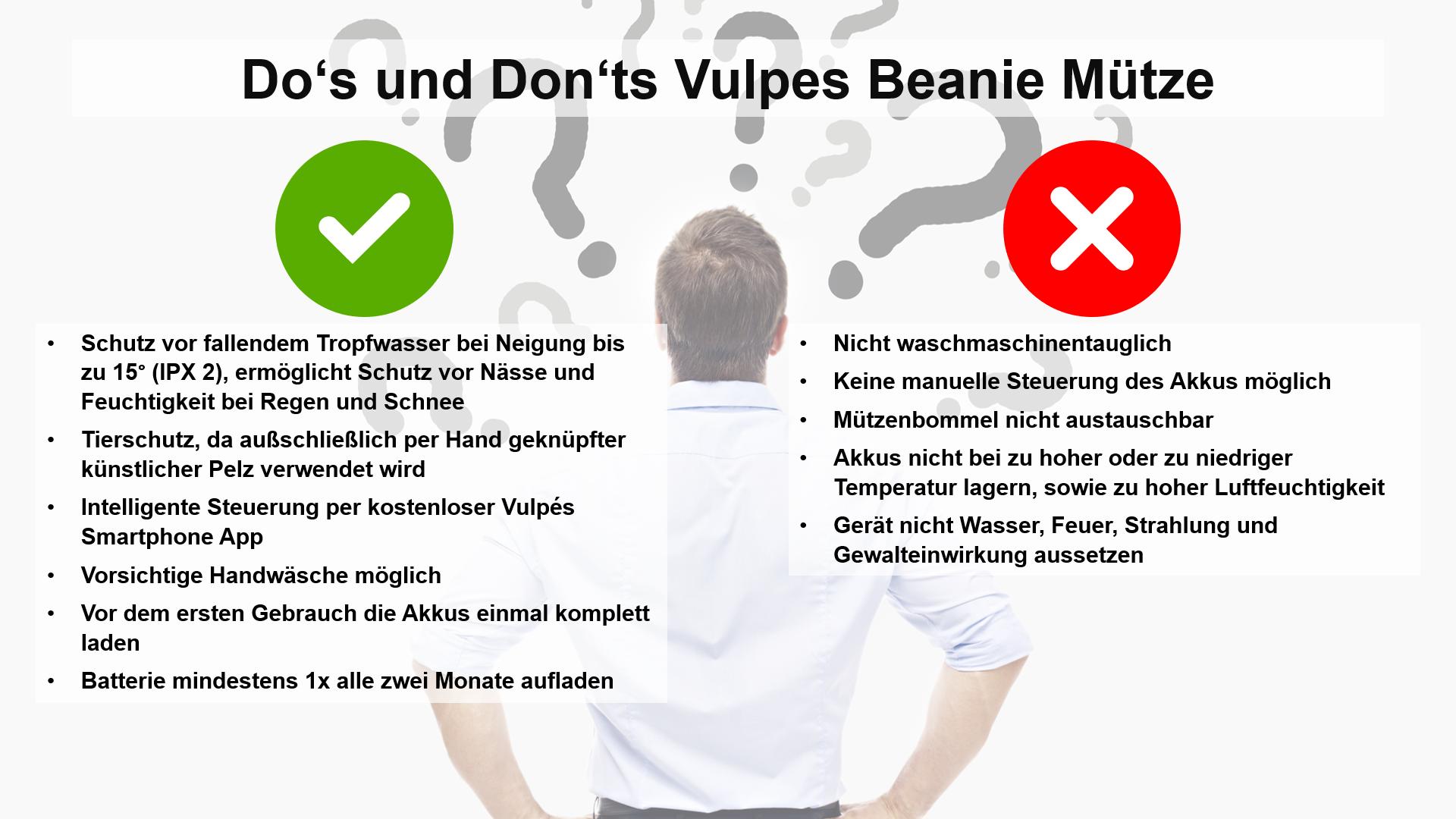 Do's und Don'ts Vulpes Beanie Mütze