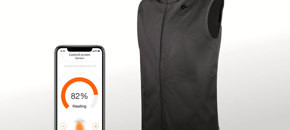 Vulpés Ganymed - Smart Heated Vest