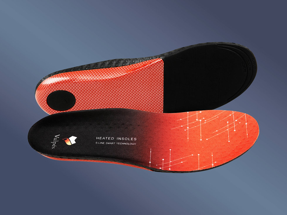 Vulpés S-Line - Intelligente beheizbare Einlegesohlen