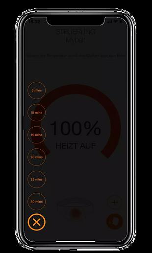 Vulpés Nierengurt - beheizbarer Nierenwärmer mit individuellem Timer