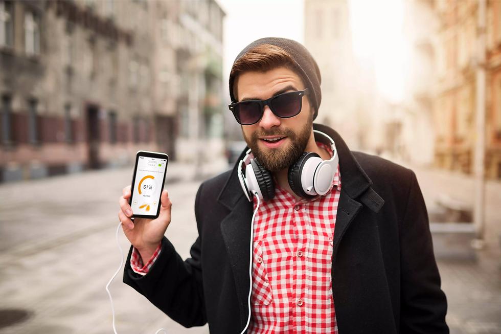 Beheizbare Bekleidung mit Smartphone Steuerung