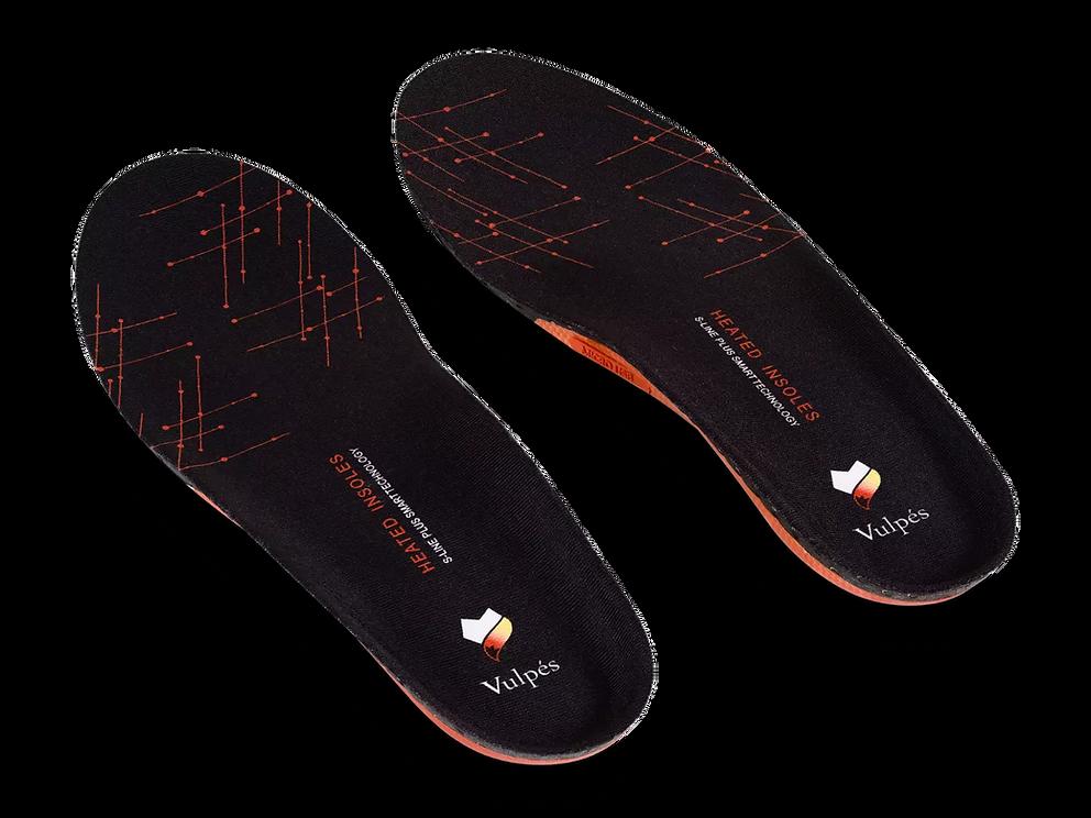 Vulpés S-Line PLUS - intelligente beheizbare Einlegesohlen / Ergonomische Einlegesohlen / Antibakteriel