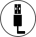 Vulpés S-Line PLUS - beheizbare Fußwärmer / Aufgeladen per Mikro USB