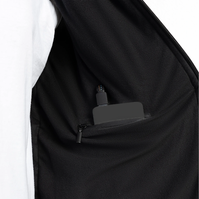 Vulpés Ganymed - smart heated vest (powered with power bank)
