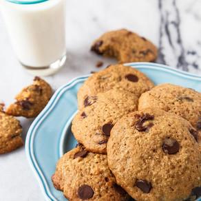 Easy Quinoa Reindeer Cookies