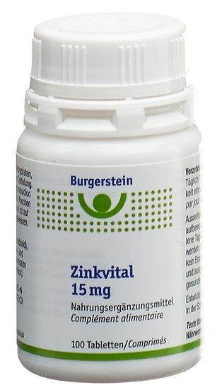 Burgerstein Zinkvital 15mg Tabletten 100 Stücke
