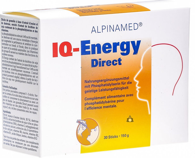 Alpinamed IQ-Energy Direct 30 Stücke