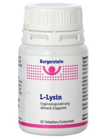 Burgerstein L-Lysin Tabletten 100 Stücke