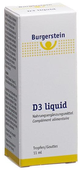 Burgerstein Vitamin D3 liquid Tropfflasche 11ml