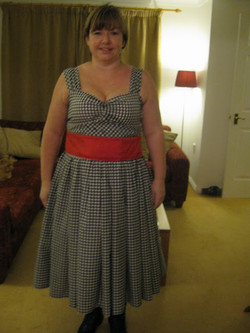 Front of Barn Dance dress