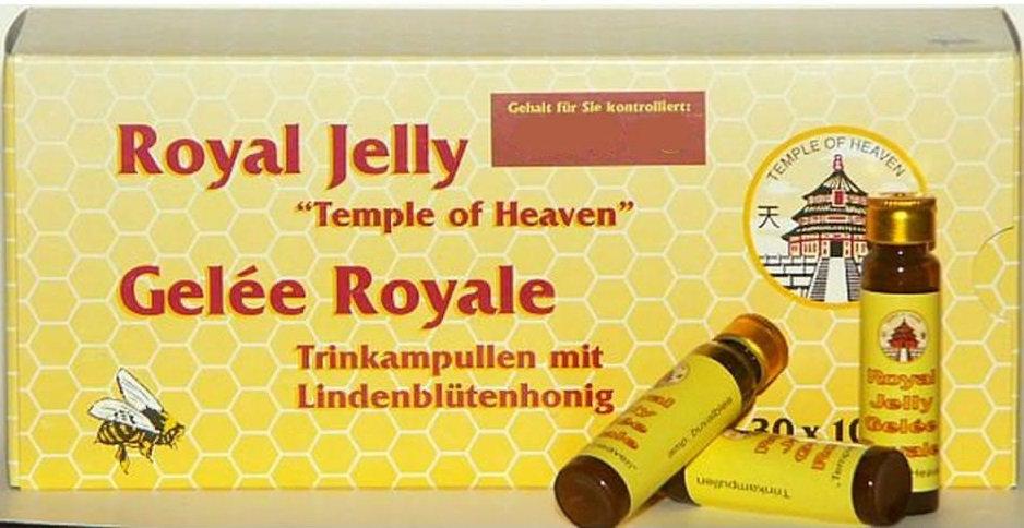 Panax Gelee Royal Ampullen 30 Stücke