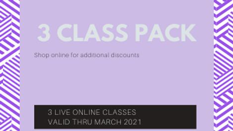 3 Class Pack
