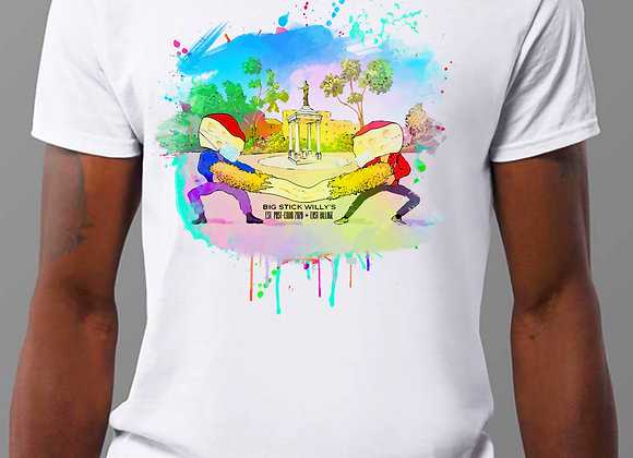 Big Stick Willy's Menu T-Shirt