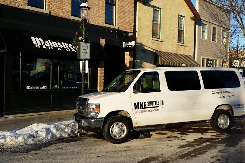 Take your group to lunch in one of our shuttles
