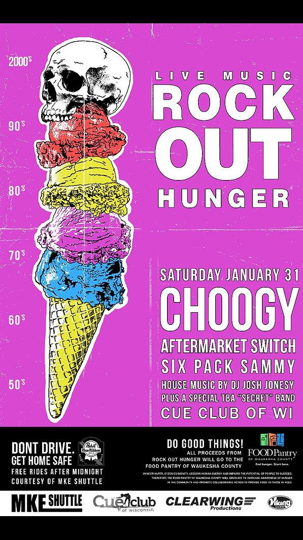 rock out hunger waukesha
