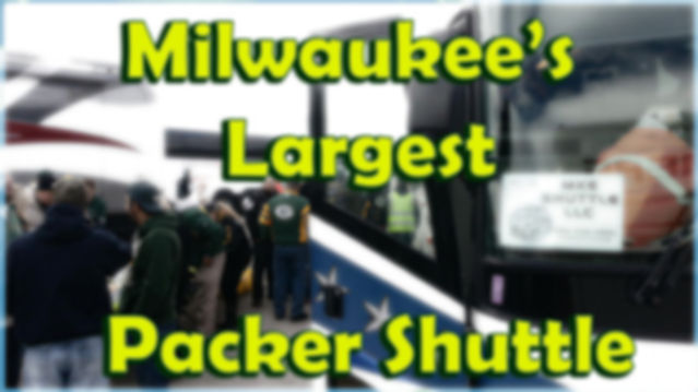 Packer Shuttle from Milwaukee and Waukesha
