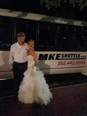 Steve and the new bride!