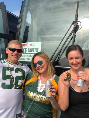 Tailgating a Packers Game