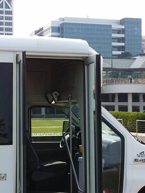 Shuttling a wedding in downtown Milwaukee