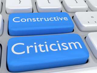 CRITICISM IS NEVER CONSTRUCTIVE