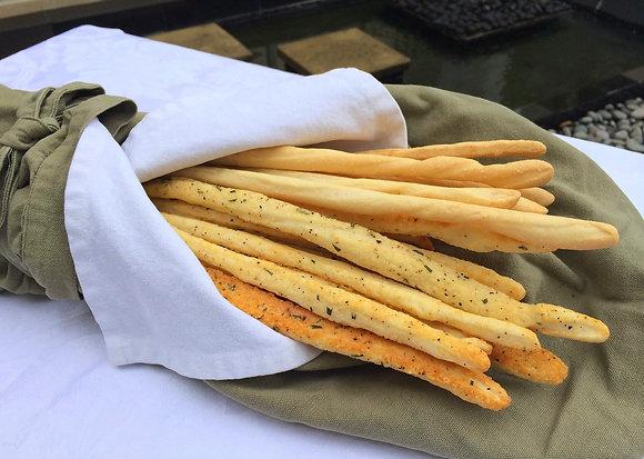Crispy & Savoury  Multi-Grain Sourdough Twists