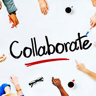 collaborating together